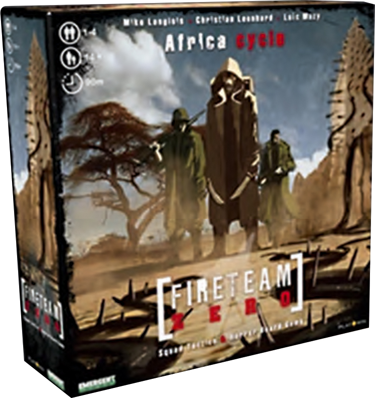Fireteam Zero: Africa Cycle Expansion Box Front