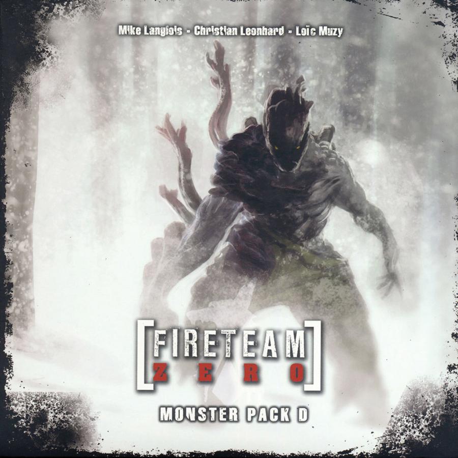Fireteam Zero: Monster Pack D Box Front
