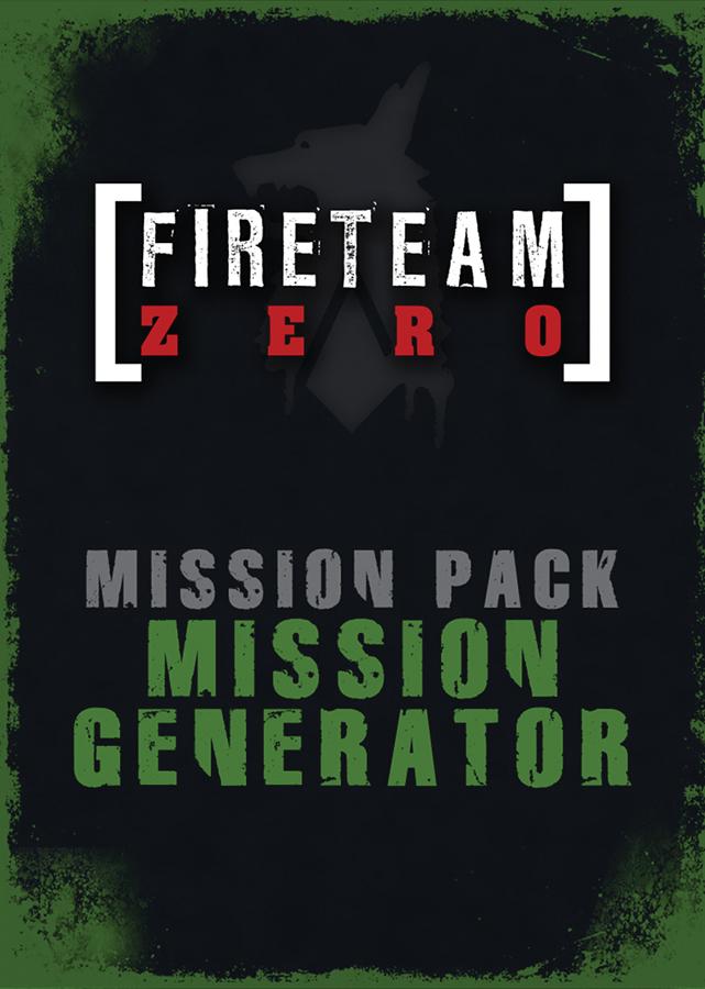 Fireteam Zero: Mission Generator Pack Box Front