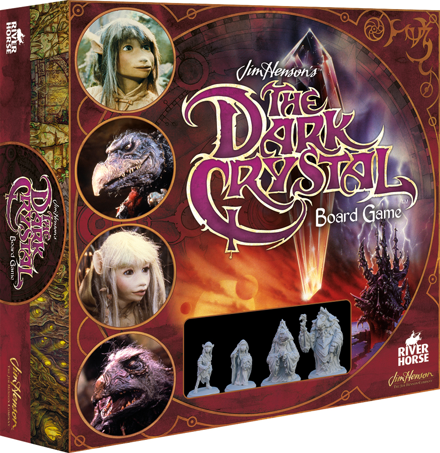 Jim Henson`s The Dark Crystal: The Board Game Box Front