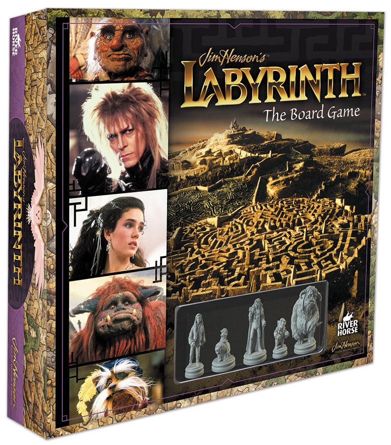 Jim Henson`s Labyrinth: The Board Game Box Front