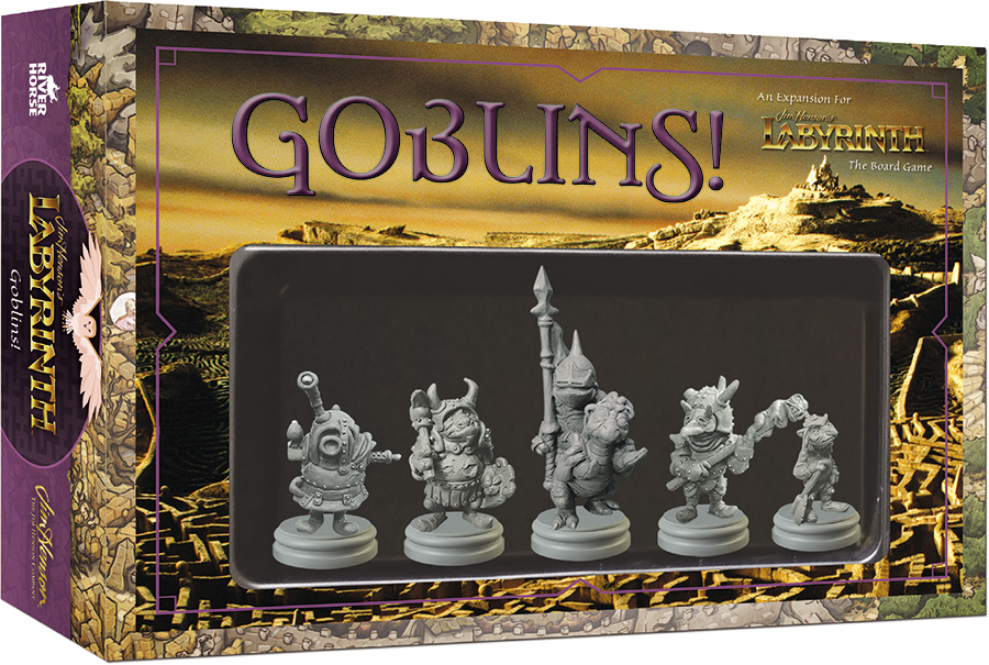 Jim Henson`s Labyrinth: Goblins! Expansion Box Front