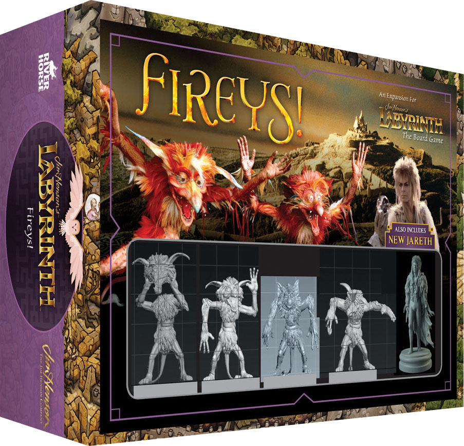 Jim Henson`s Labyrinth: Fireys! Expansion Game Box