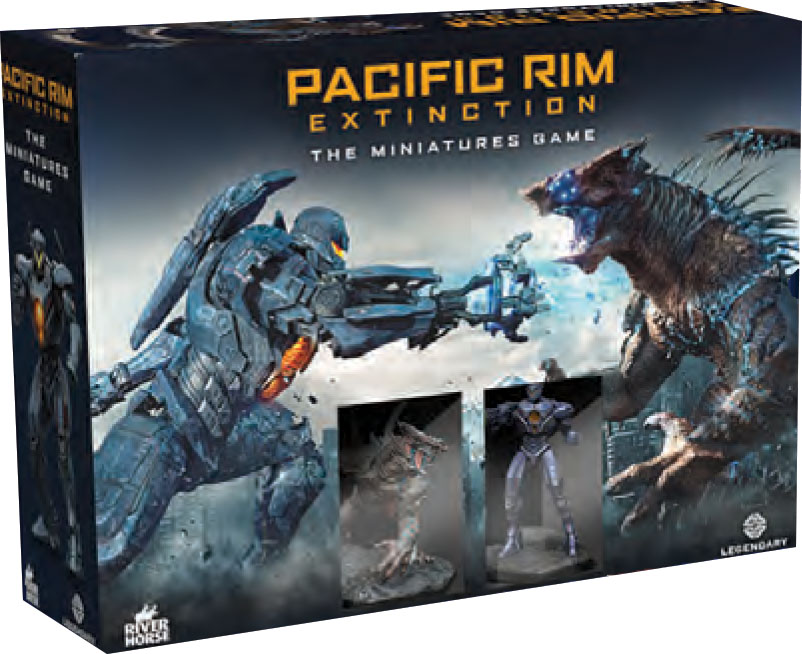 Pacific Rim: Extinction Miniatures Game Starter Set Game Box