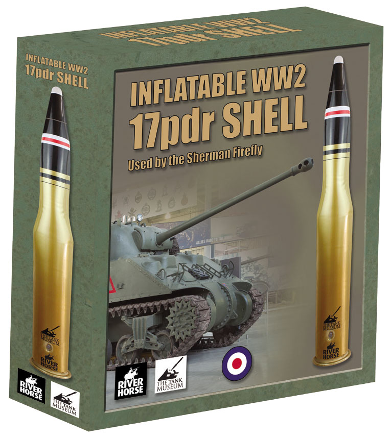 Inflatable Ww2 17pdr Shell (used By The Sherman/firefly) Box Front