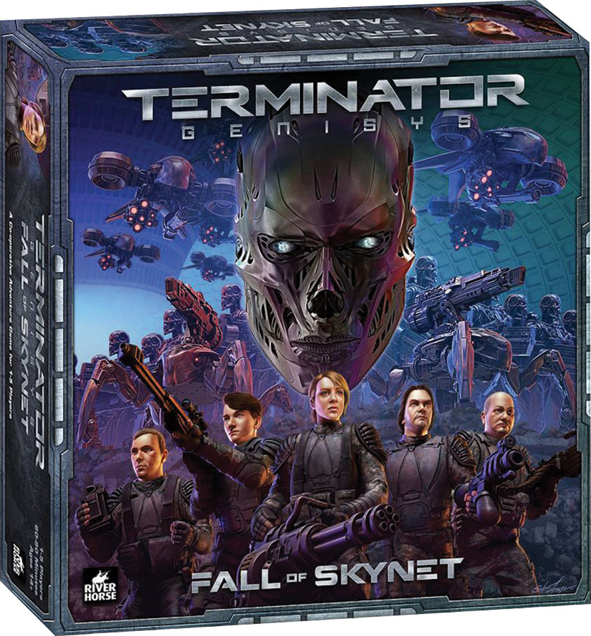 Terminator: Genysis Board Game - Fall Of Skynet Expansion Game Box