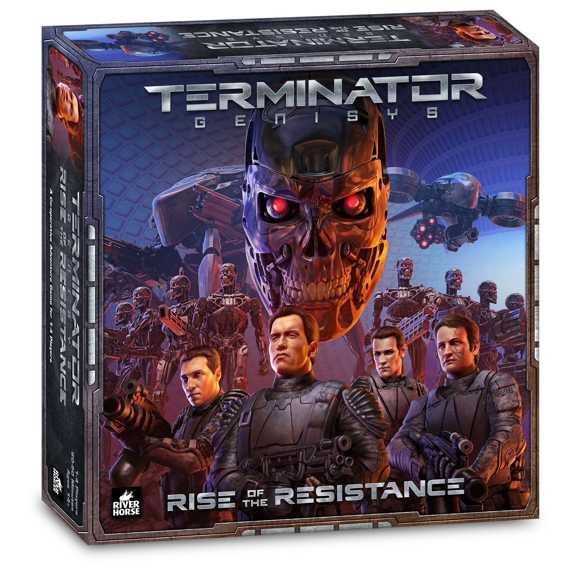 Terminator: Genysis Board Game - Rise Of The Resistance  Box Front