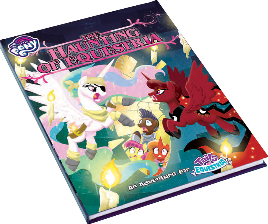 My Little Pony: Tails Of Equestria Rpg - The Haunting Of Equestria Game Box