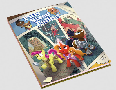 My Little Pony: Tails Of Equestria Rpg - Filly Sized Follies Game Box