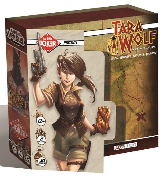 Tara Wolf In Valley Of The Kings Game Box
