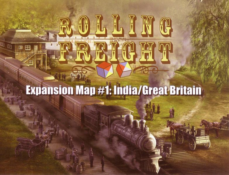 Rolling Freight: India And Great Britain Expansion Game Box