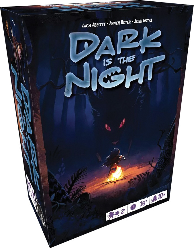 Dark Is The Night Box Front