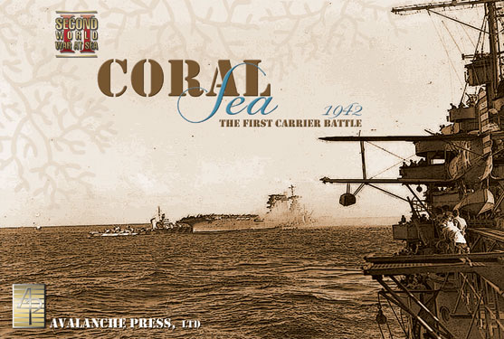 Second World War At Sea: Coral Sea Box Front