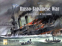 Great War At Sea: Russo-japanese War Game Box