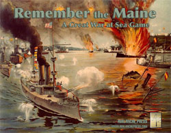Great War At Sea: Remember The Maine Box Front
