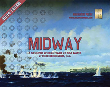 Second World War At Sea: Midway - Deluxe Edition Game Box