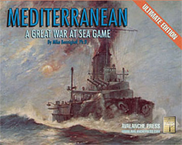 Great War At Sea: Mediterranean - Ultimate Edition Game Box