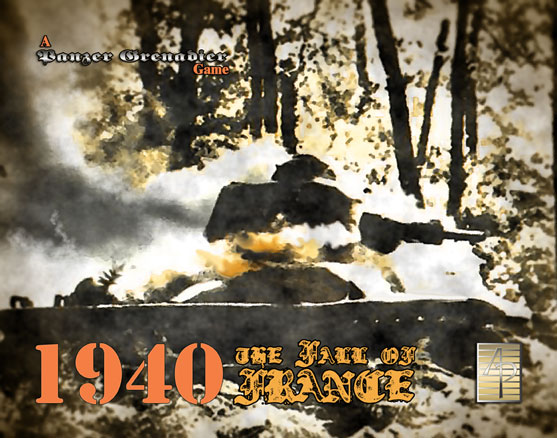 Panzer Grenadier: Fall Of France 1940 Game Box