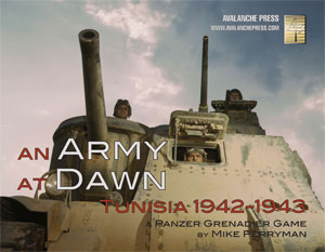Panzer Grenadier: An Army At Dawn Game Box