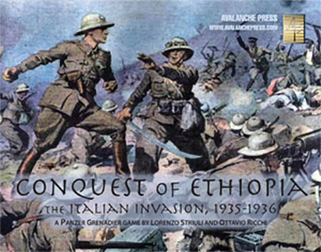 Panzer Grenadier: Conquest Of Ethiopia Box Front