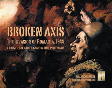 Panzer Grenadier: Broken Axis - The Invasion Of Romania 1944 Game Box