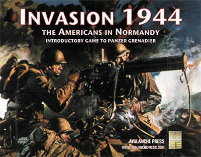 Panzer Grenadier: Invasion 1944 Game Box