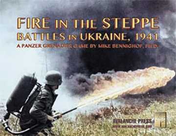Panzer Grenadier: Fire In The Steppe Box Front