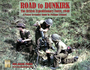 Panzer Grenadier: Road To Dunkirk Box Front