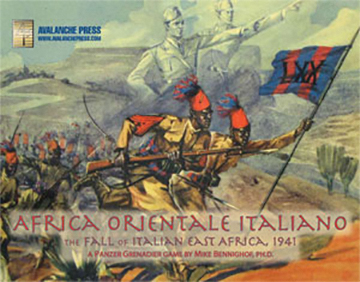 Panzer Grenadier: Africa Orientale Italiana Box Front