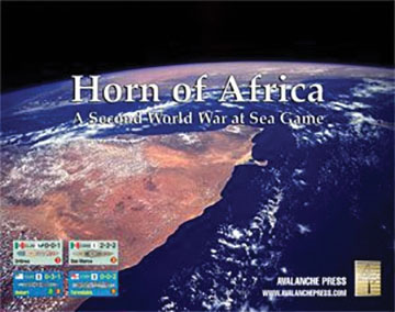 Second World War At Sea: Horn Of Africa - Second Edition Game Box