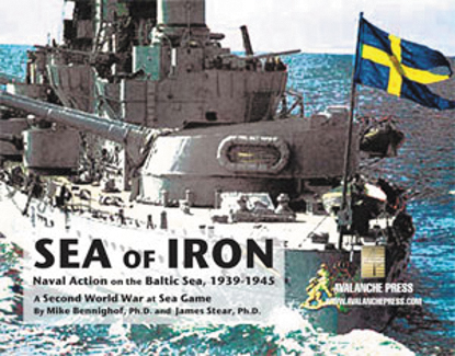Second World War At Sea: Sea Of Iron Box Front