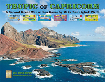 Second Great War At Sea: Tropic Of Capricorn Box Front