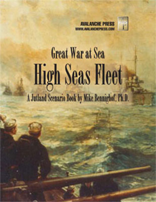 Great War At Sea: High Seas Fleet Box Front