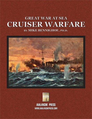Great War At Sea: Cruiser Warfare Box Front