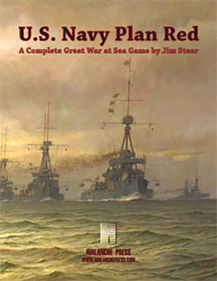 Great War At Sea: U.s. Navy Plan Red Game Box