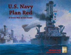 Great War At Sea: U.s. Navy Plan Red Game Box