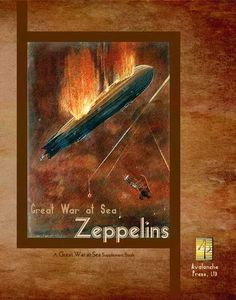 Great War At Sea: Zeppelins 2nd Edition Game Box