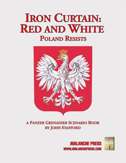 Panzer Grenadier: Iron Curtain - Red And White Box Front