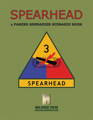 Panzer Grenadier: Spearhead Division Box Front