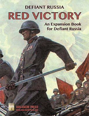 Defiant Russia: Red Victory - An Expansion Book For Defiant Russia Box Front