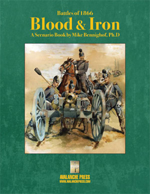 Battles Of 1866: Blood And Iron Box Front