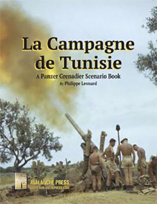 Panzer Grenadier: La Campagne De Tunisie Box Front