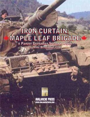 Panzer Grenadier: Maple Leaf Brigade Box Front