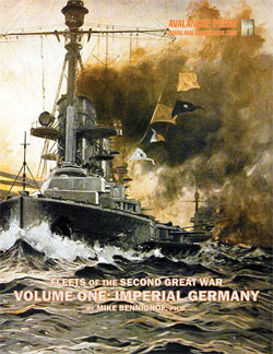 Second Great War At Sea: Fleets Of The Second Great War - Volume 1 Imperial Germany Game Box