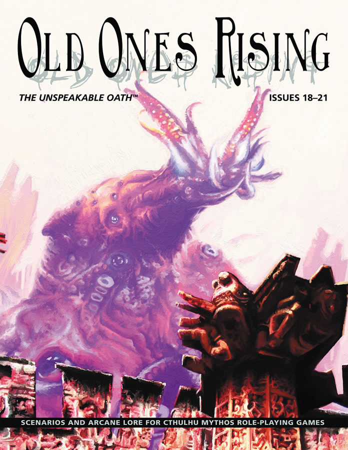 Old Ones Rising Rpg: The Unspeakable Oath Box Front