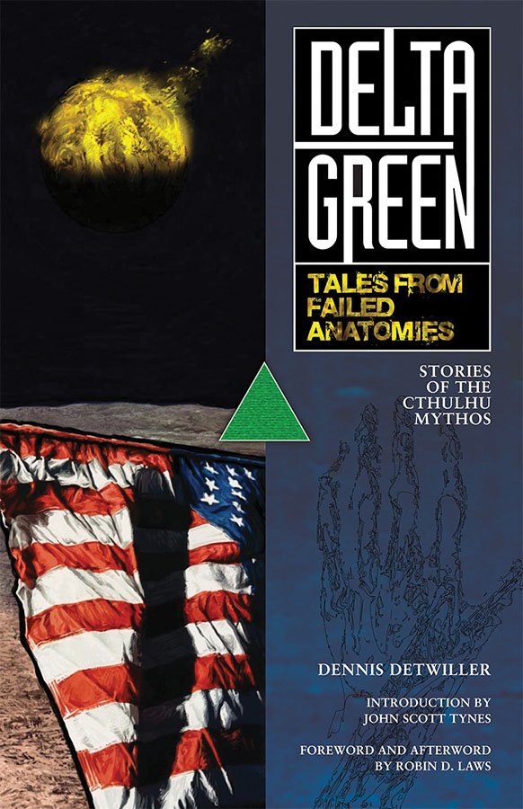 Delta Green: Tales From Failed Anatomies Paperback Box Front