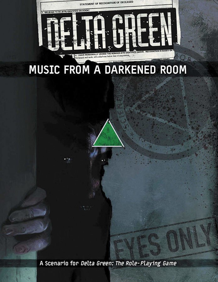Delta Green Rpg: Music From A Darkened Room Box Front
