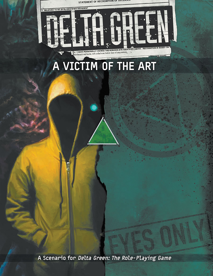 Delta Green Rpg: A Victim Of The Art Box Front