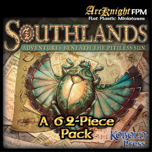Flat Plastic Miniatures: Southlands Box Front
