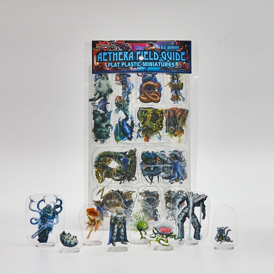 Flat Plastic Miniatures: Legendary Games - Aethera Field Guide (62pc)